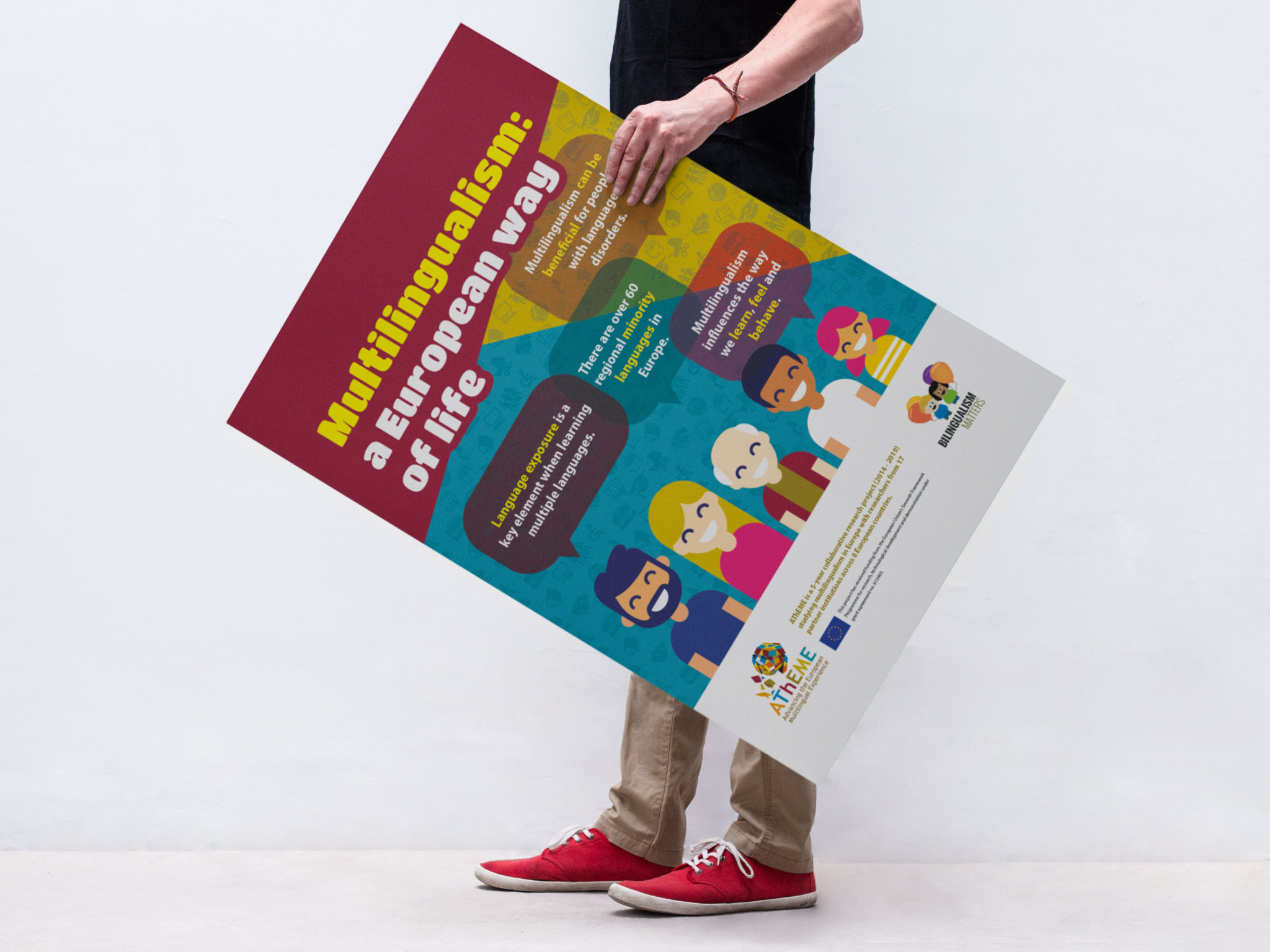 AThEME Multilingualism poster