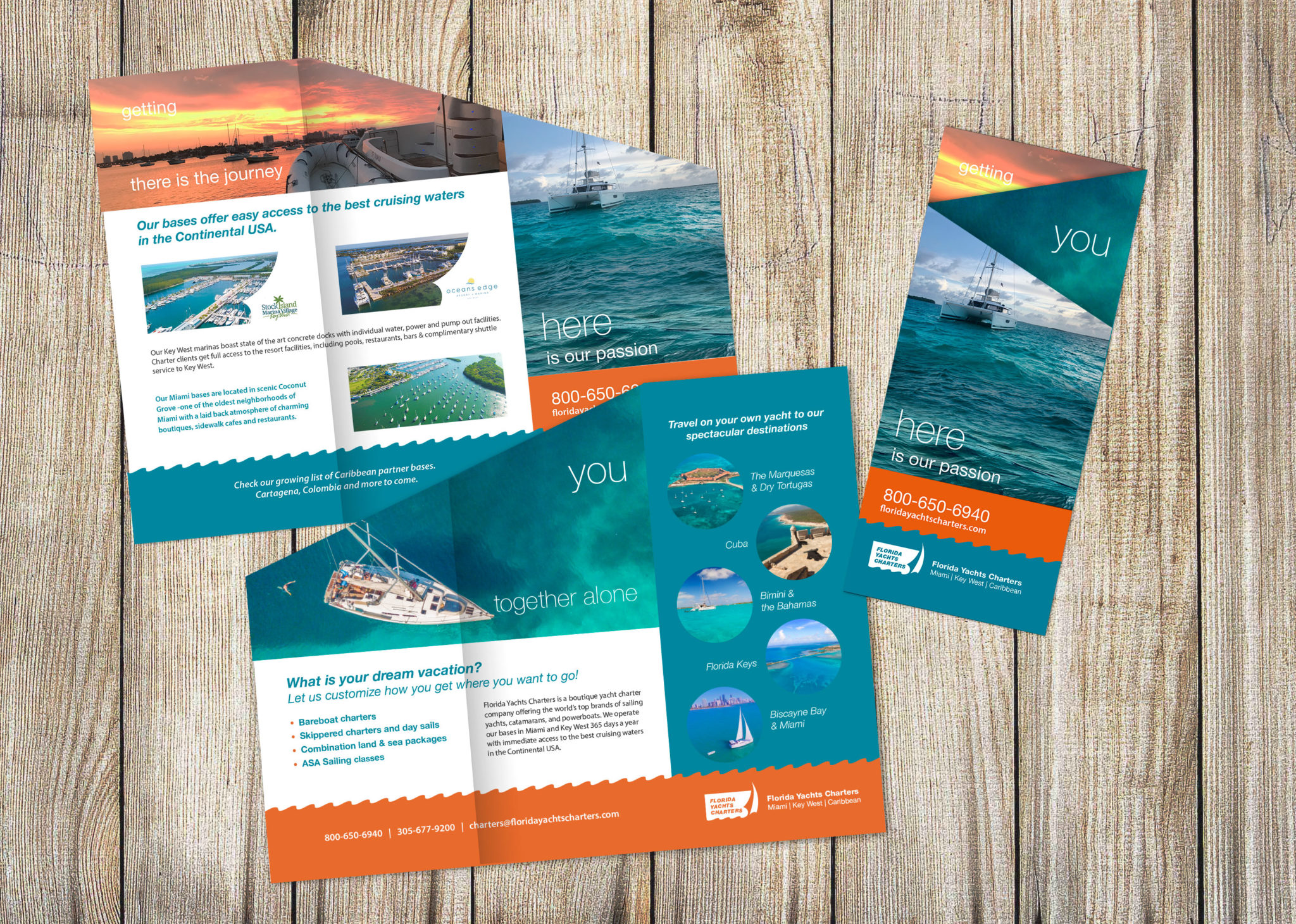 Florida Yacht Charters flyer