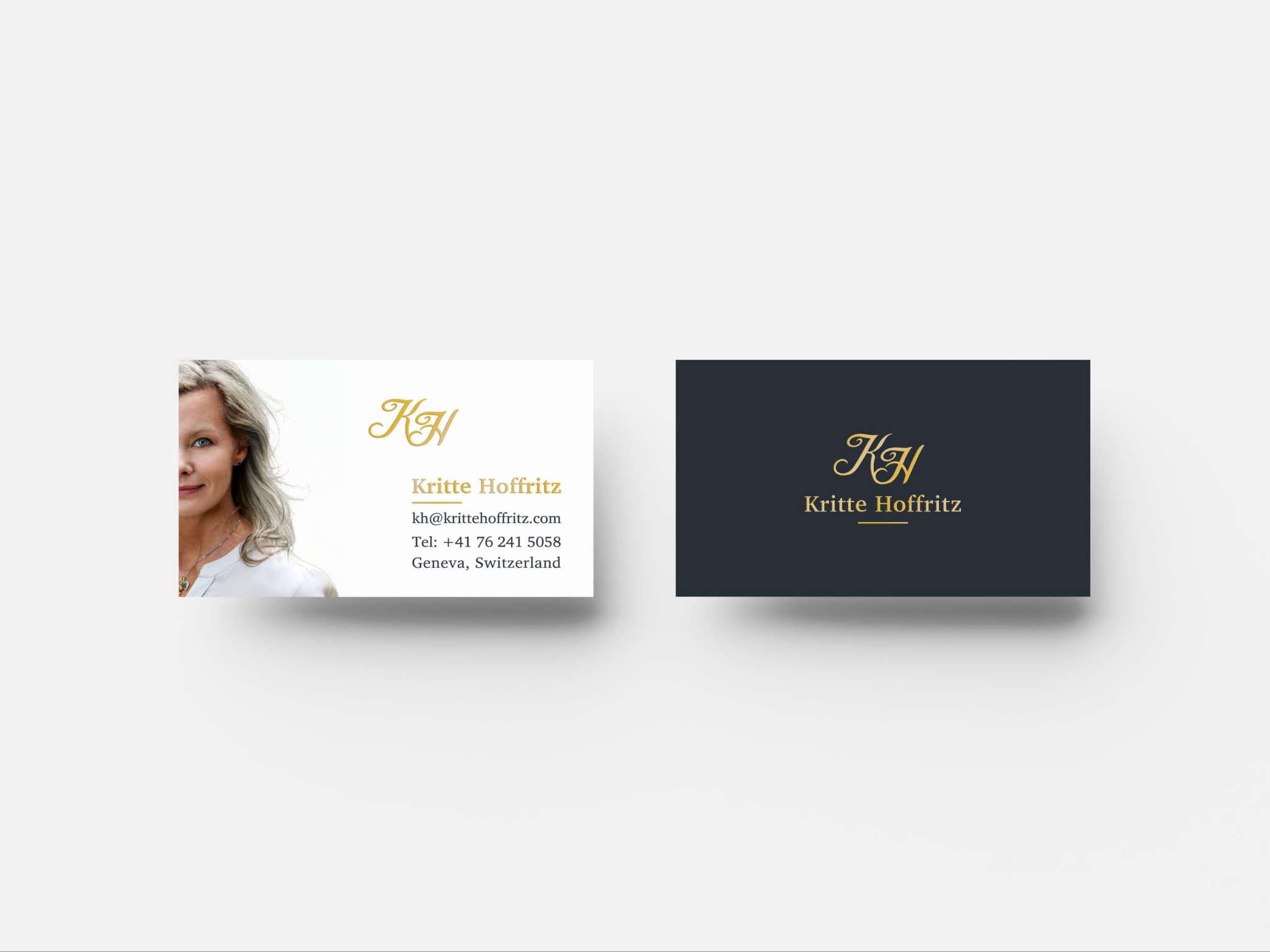 Kritte Hoffritz Business card