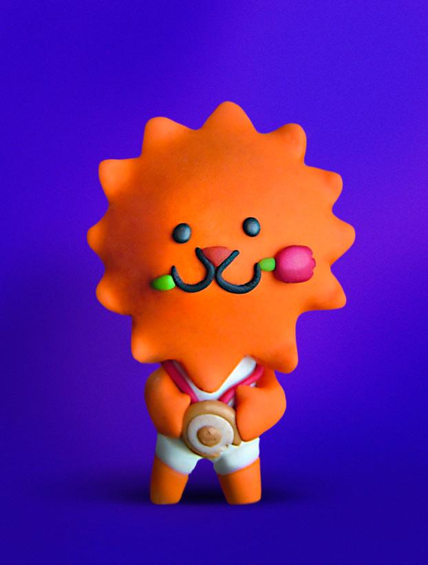 Dutch Olympic Mascot